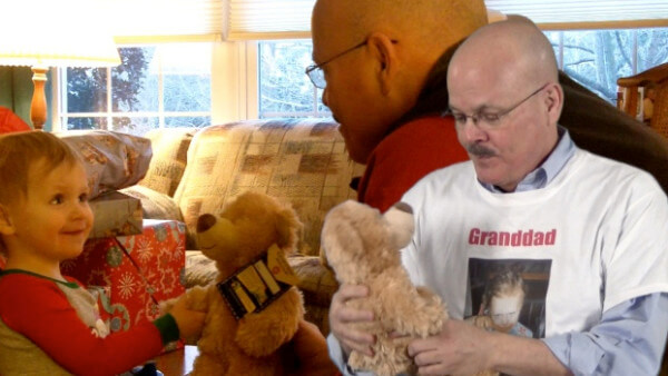 Beckett Gives Granddad A Gift