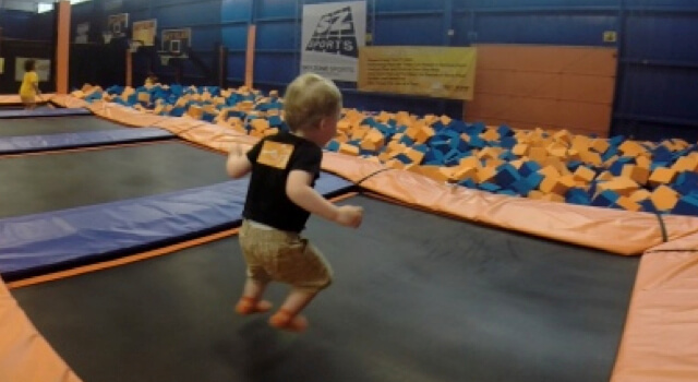 Beckett Bounces To Sky Zone