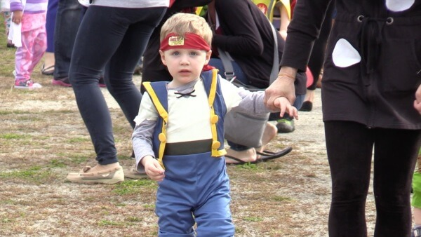 Beckett's School's Halloween Parade