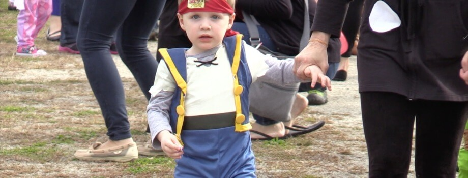 Beckett's School's Halloween Parade