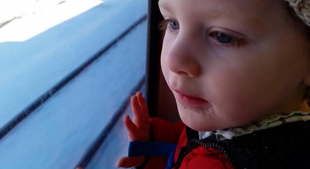 Beckett Takes The Train