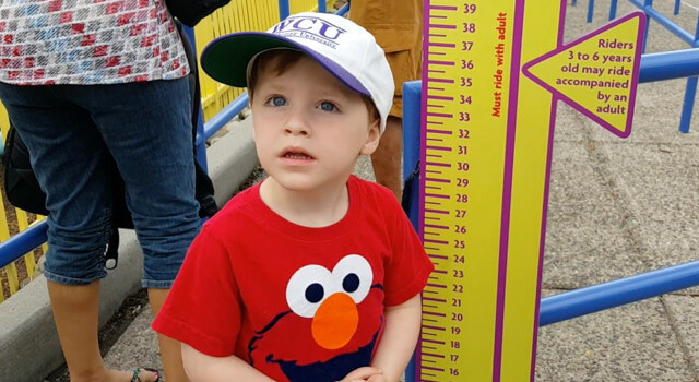Beckett Goes To Sesame Place