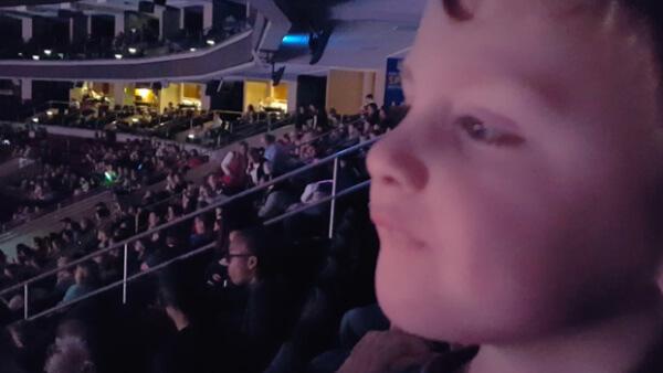 Beckett Goes To Disney On Ice