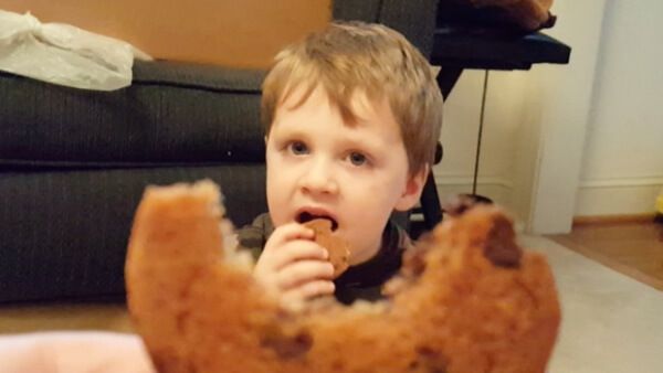 Beckett and Grammy Make Cookies