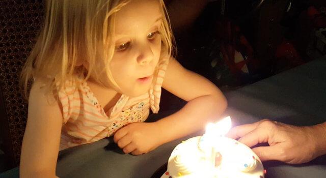 Isabel's Third Birthday Celebrations