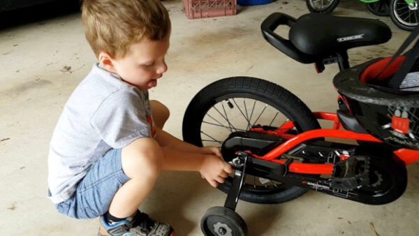 Beckett Loses Training Wheels