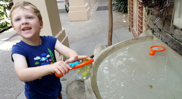 Beckett Plays With Water at Longwood Gardens