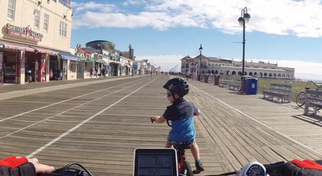Beckett Rides OCNJ Boardwalk