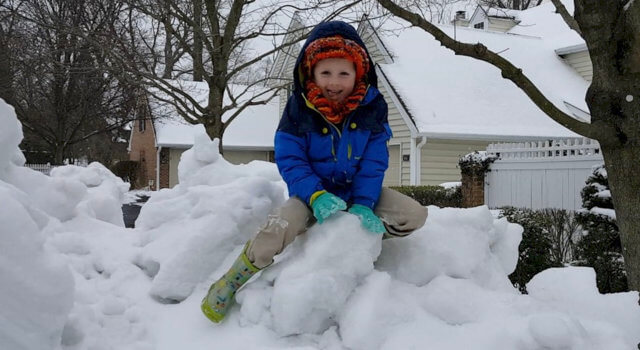 Beckett Plays On Snow Mountain