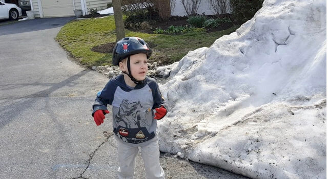 Beckett Returns To Snow Mountain
